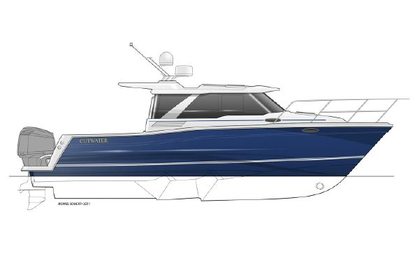 2022 Cutwater C-288 Coupe