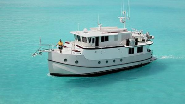 Great Harbour GH47 Trawler East Passage In the Bahamas