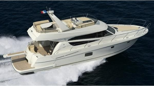 Jeanneau Prestige 50. Manufacturer Provided Image