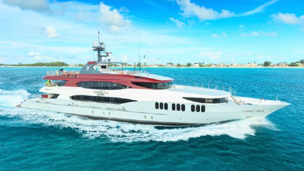 Trinity Yachts 164 Tri-deck Motor Yacht