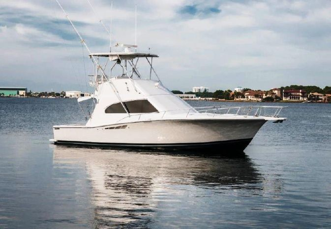 2001 Luhrs Convertible