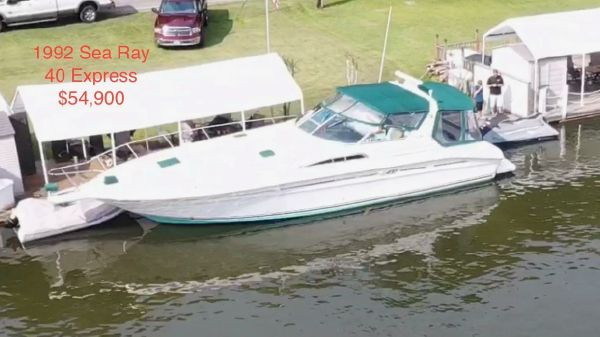 Sea Ray 40 express