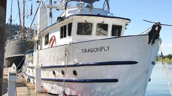 Motor Yacht Custom Pleasure Trawler