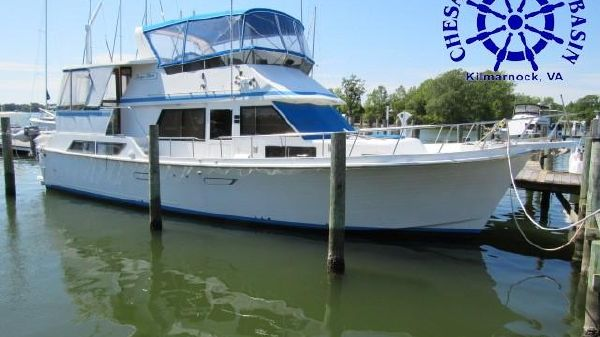 Present Yachts Sundeck 46