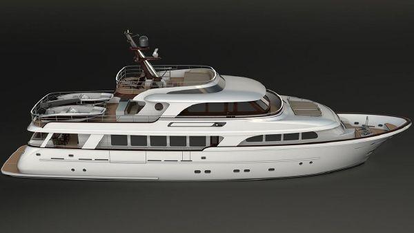 Selene 110 Trideck Motor Yacht