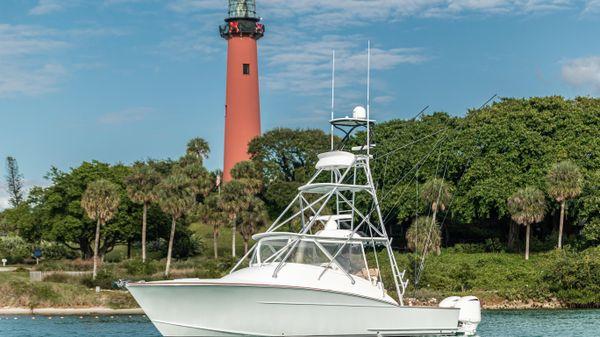 Xcelerator Boatworks Custom Carolina 35 Express