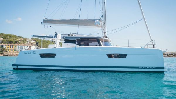 Fountaine Pajot Astrea 42 JUNE 2019 DELVIERY