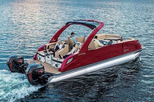 2020 Harris Crowne DL 270 Twin Engine