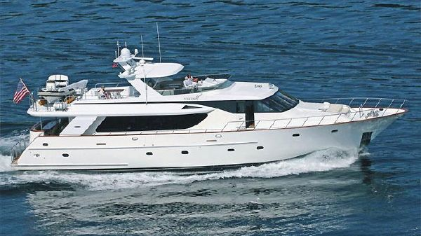 Northstar Pilothouse 92' North Star Pilothouse LRC Underway!