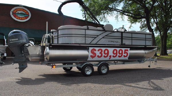 Starcraft SLS 3 Pontoon (Silver Metallic)