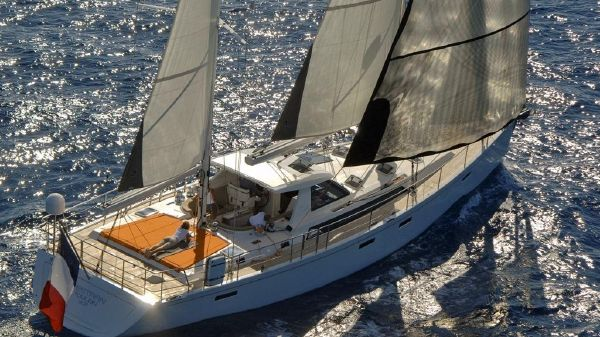 Amel 55 Sailing