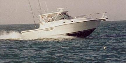 Pursuit 3400 Express Fisherman
