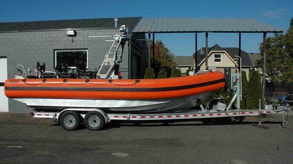 SAFE Boats Center console, Jet Drive