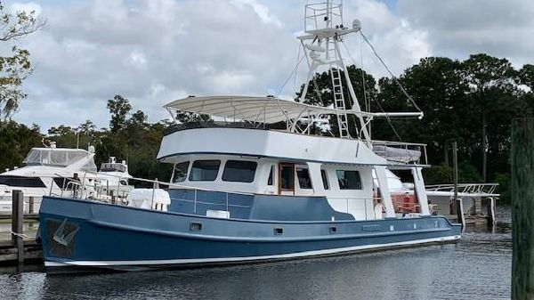 Custom Long Range Steel Trawler