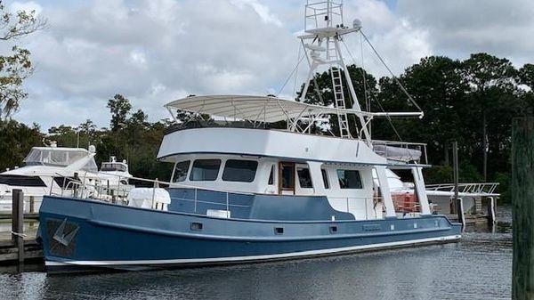 Custom Long Range Steel Trawler