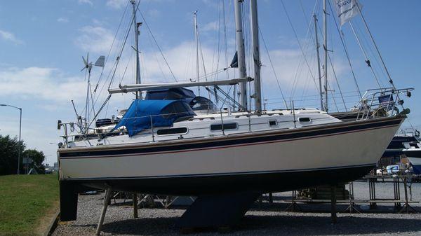 Westerly Konsort Starboard side