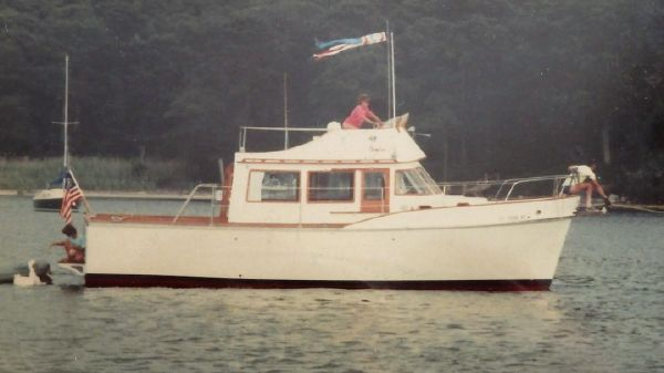 Cheoy Lee Sedan Trawler