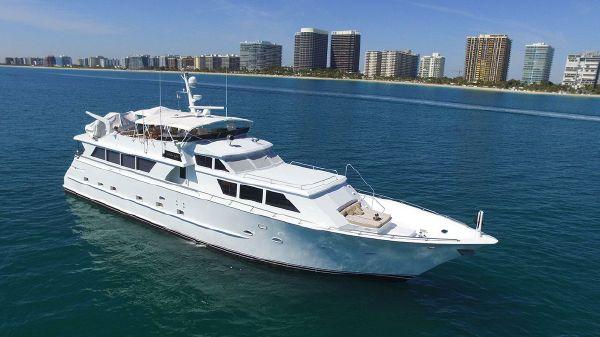 Broward Raised Pilothouse MY 94' Broward Motor Yacht GOLDEN GIRL