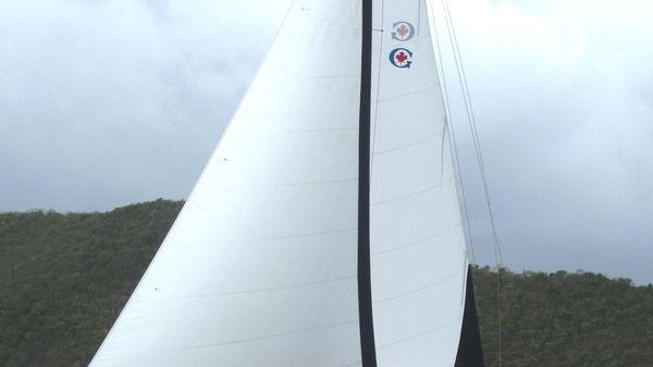 Gozzard 41 Under sail