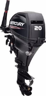 Mercury Fourstroke 20 hp - main image