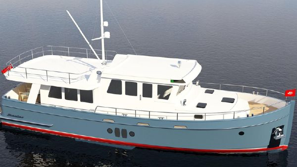 Steeler Explorer 50 Pilothouse Finished ship  styling