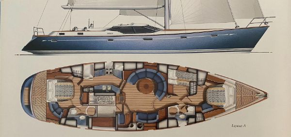 Oyster 56 Center Cockpit Cutter image