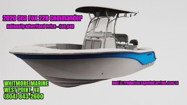 Sea Fox 228 Commander
