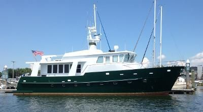 Bruce Roberts TY620 Pilot House Expedition Trawler