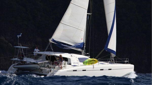 Nautitech 47 MOUN under sail