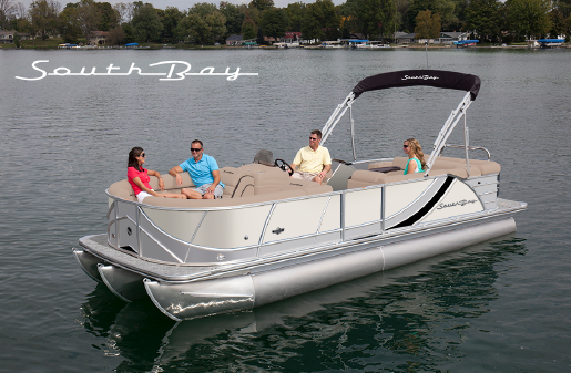South Bay 525RS LUXURY TRI-TOON image