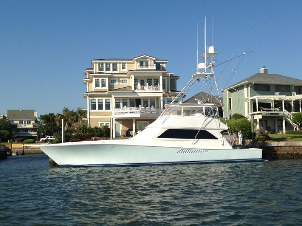 2001 Viking Yachts 65 Convertible-Painted