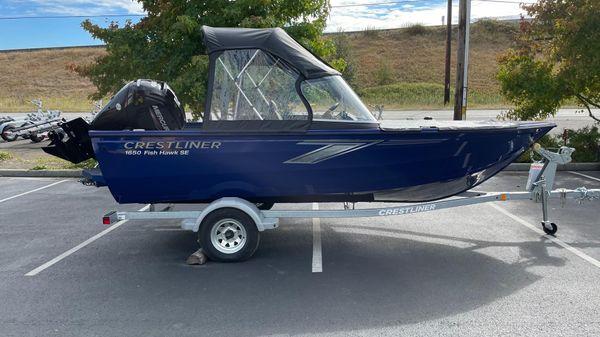 Crestliner 1650 Fish Hawk SE WT B3356