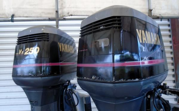 1992 Yamaha Outboards 250HP 30 INCH SHAFT    CARBURETED   2-STROKE
