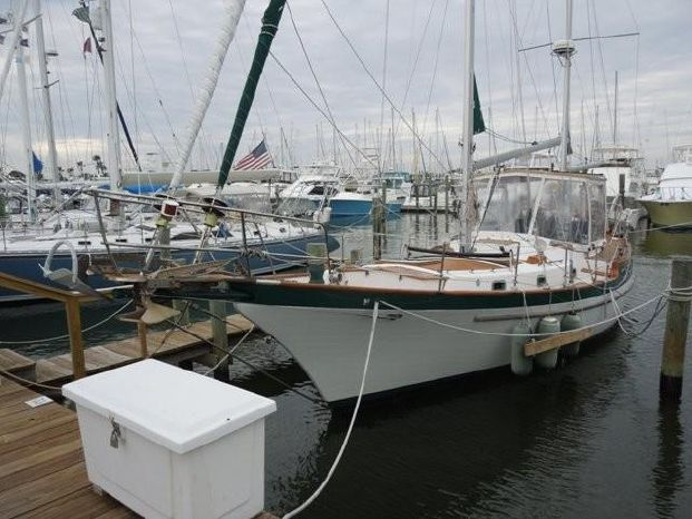 1983 Vagabond 42 Ketch St  Simons, Georgia - Whiteaker Yacht